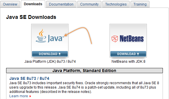 java 8u73 download 32 bit